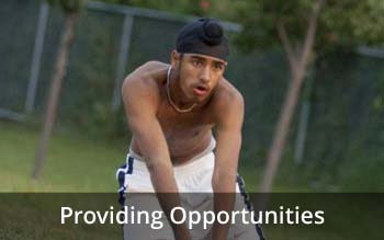 Providing Opportunities