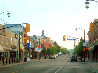 Image of a Town of Milton street