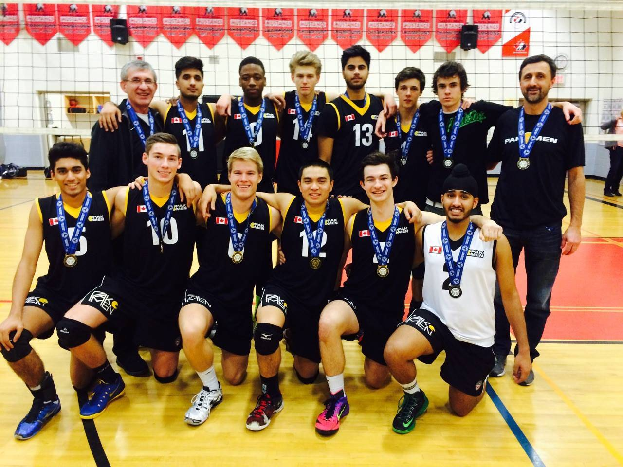 Pakmen 18u Dominate Nittany Ninvitational Pakmen Volleyball