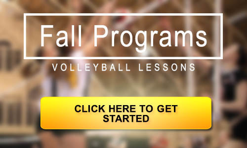 Pakmen Volleyball Fall Programs Banner