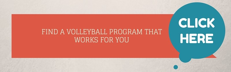 Find Volleyball Programs Banner