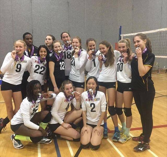 U15 Pakmen girls win gold