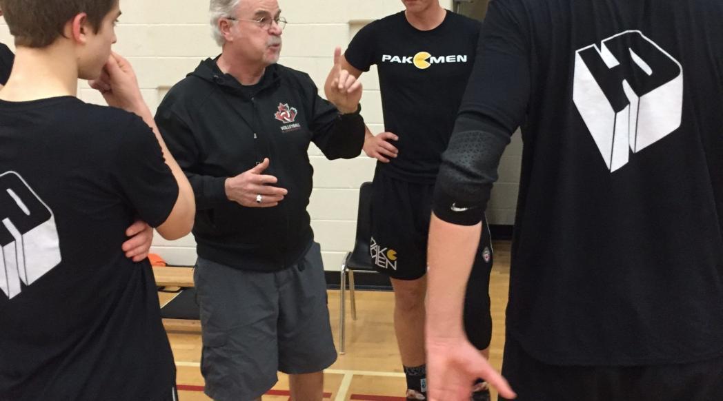 Pakmen Volleyball Coach Orest Stanko