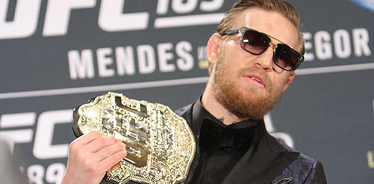 Conor McGregor UFC Champion