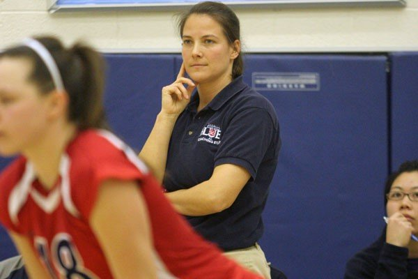 Kristine Drakich Head Coach of the U of T women's Volleyball Program