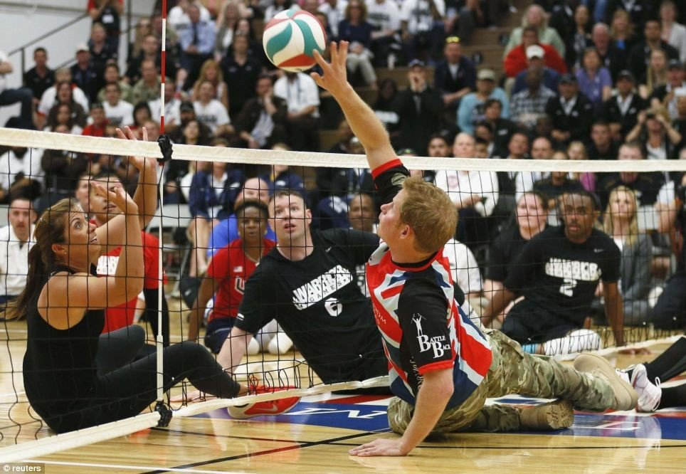 Prince Harry vs. Olympian Misty May-Treanor, 3-time Olympic gold medalist
