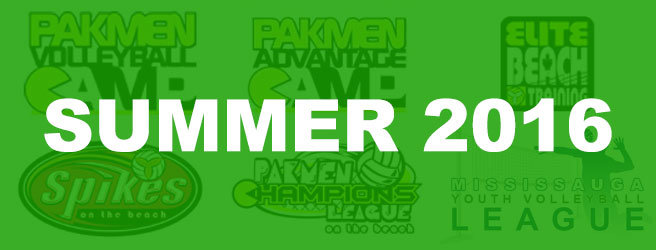 Pakmen Volleyball Summer Programs