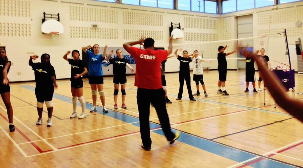 Pakmen Volleyball training exercises