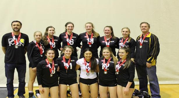 Pakmen Volleyball u18 Girls