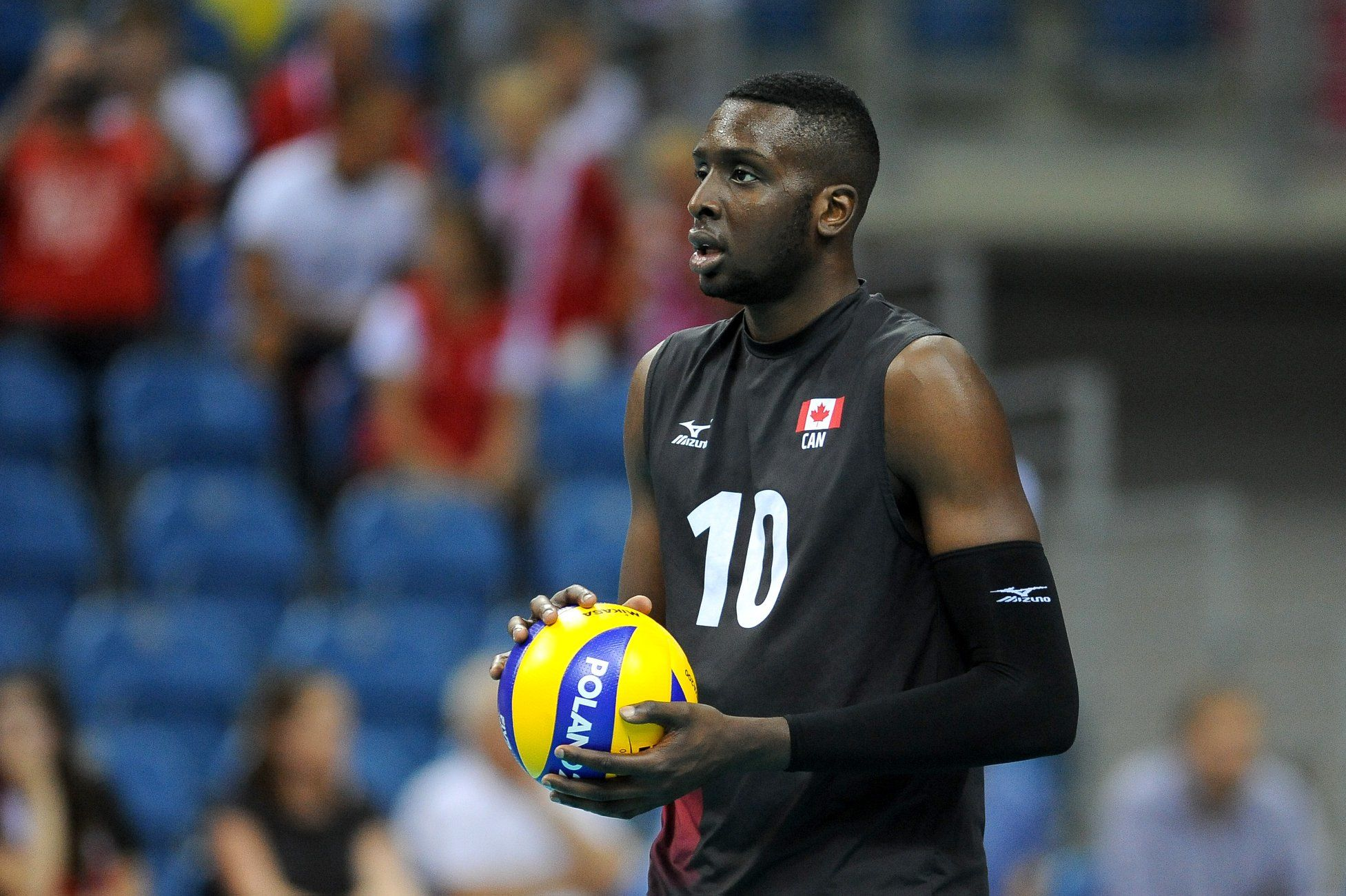 Sharone Vernon-Evans Volleyball Canada National Player