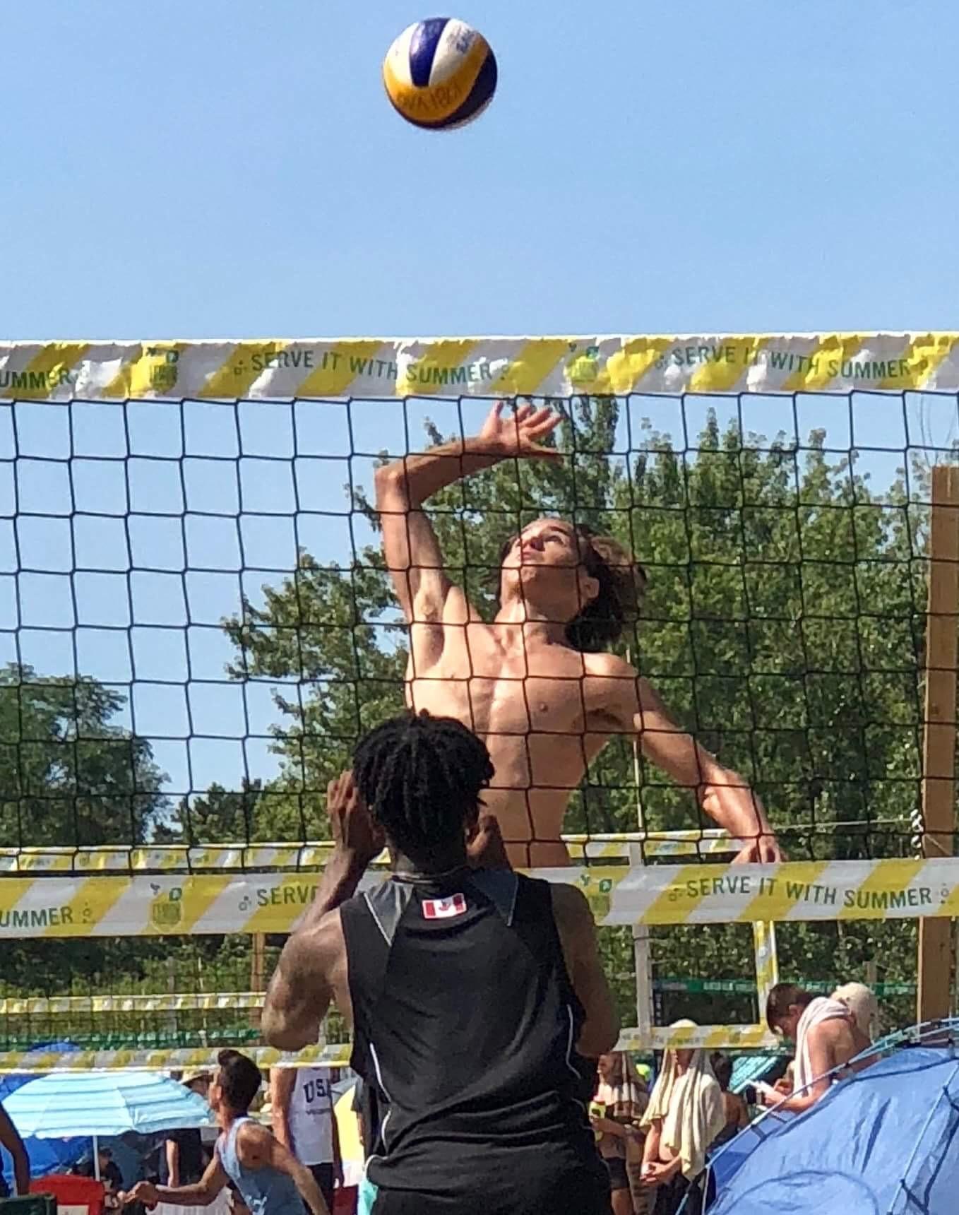 Ketrzynski beach volleyball