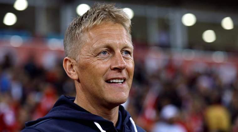 Iceland coach Heimir Hallgrimsson