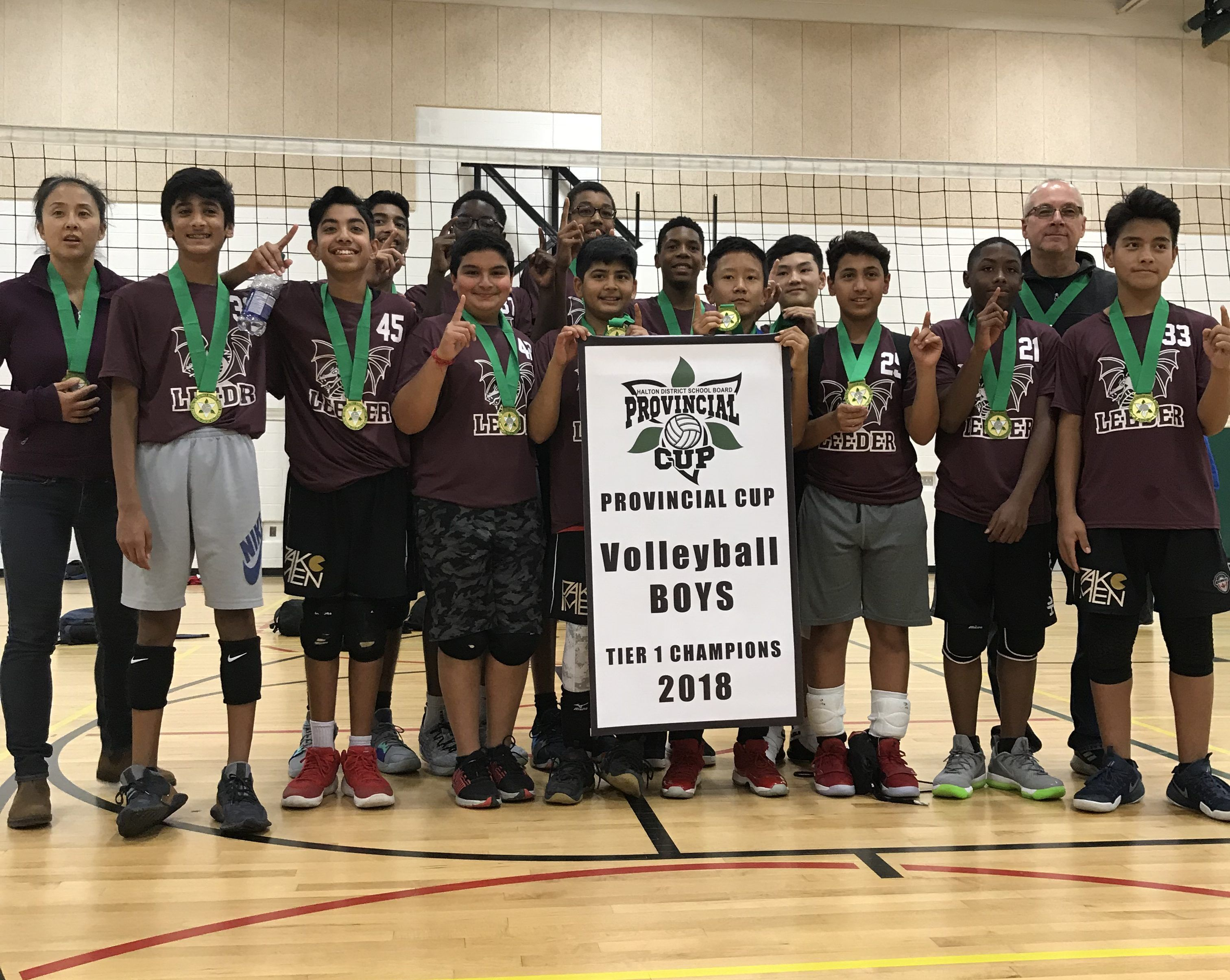 Mississauga School wins Provincial Middle School Volleyball Title
