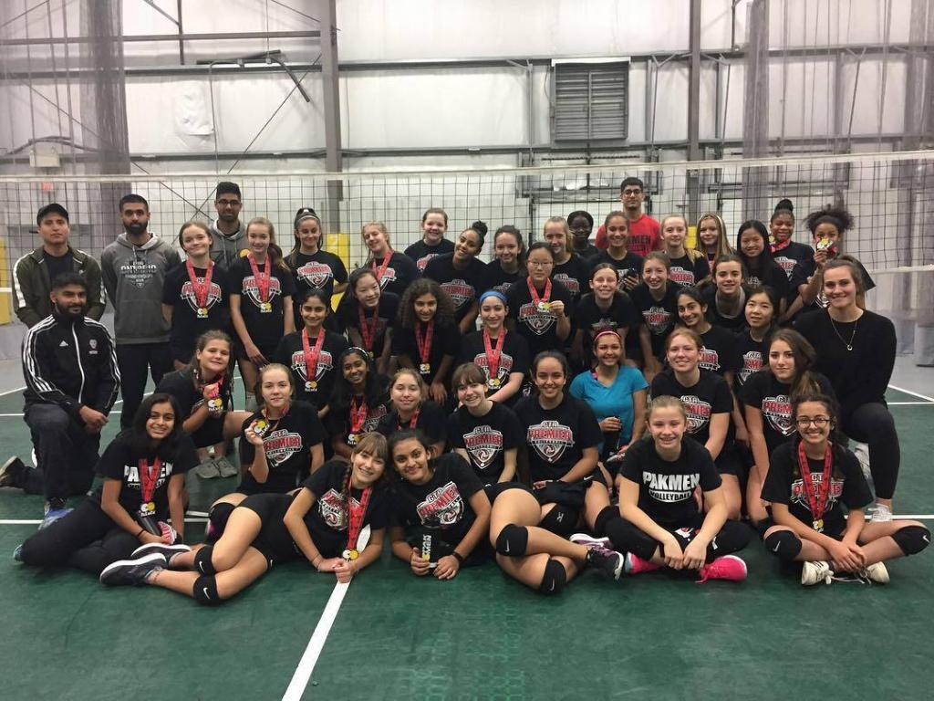 GTA Premier League Girls Volleyball League in Mississauga Canlan Sportsplex