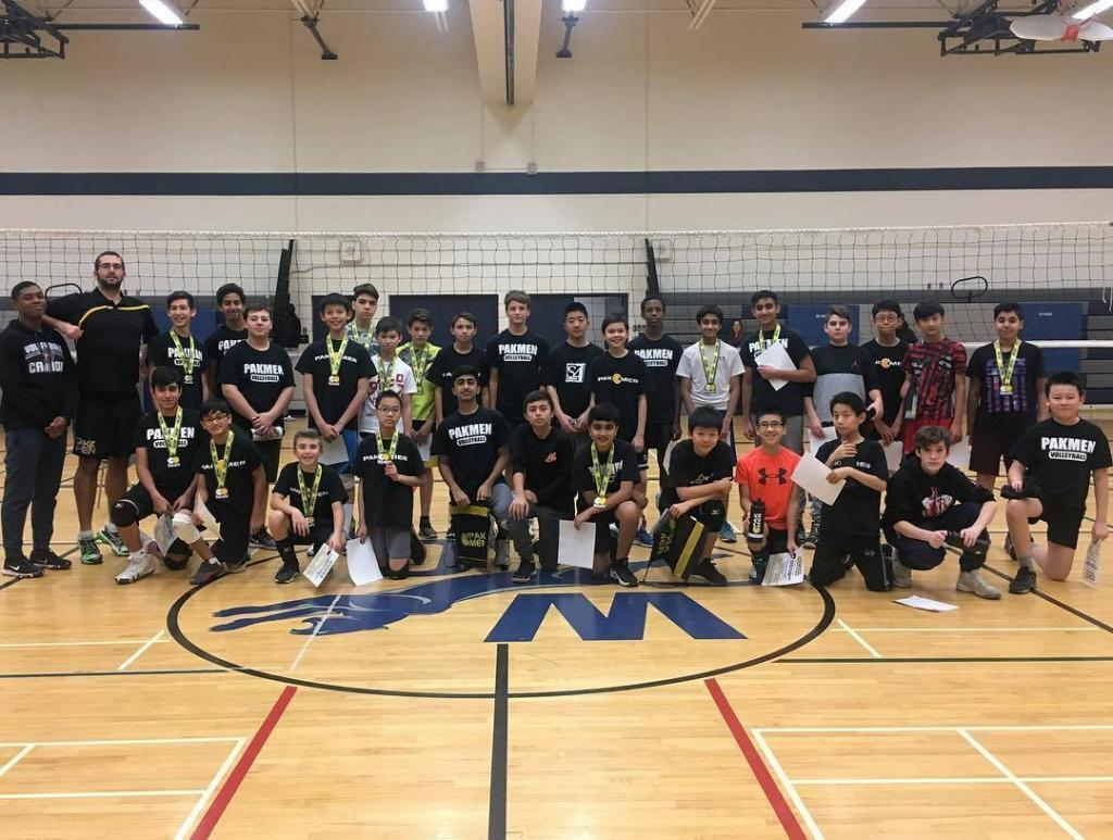 Pakmen Plus Boys Volleyball League in Mississauga