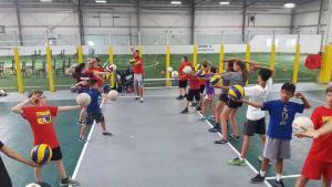 Pakmen Volleyball Camp at Canlan Sportsplex