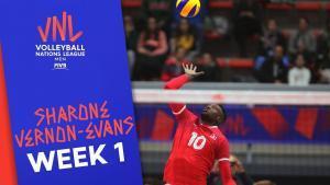 Sharone Vernon-Evans Leads Canada in Scoring