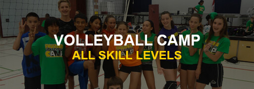 Volleyball Camps Banner