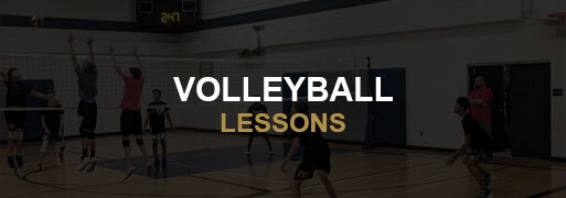 Volleyball Lessons Banner