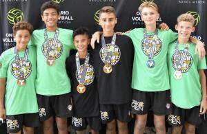 Pakmen sweep top four places at OVA U13 Beach championships
