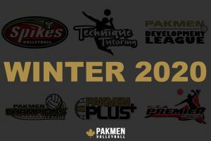 Registration now open for Winter Volleyball Programs