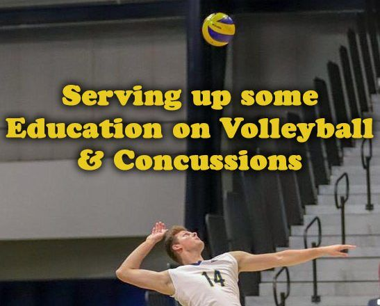 Serving up some Education on Volleyball and Concussions