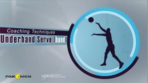 How to Perform an Underhand Serve in Volleyball – Lesson 4