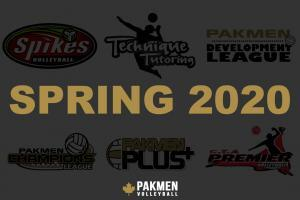 Registration now open for Spring 2020 Volleyball Programs